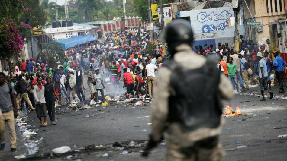 CGT se suma al apoyo internacional al pueblo de Haití, en pie por una justicia social y una mayor democracia