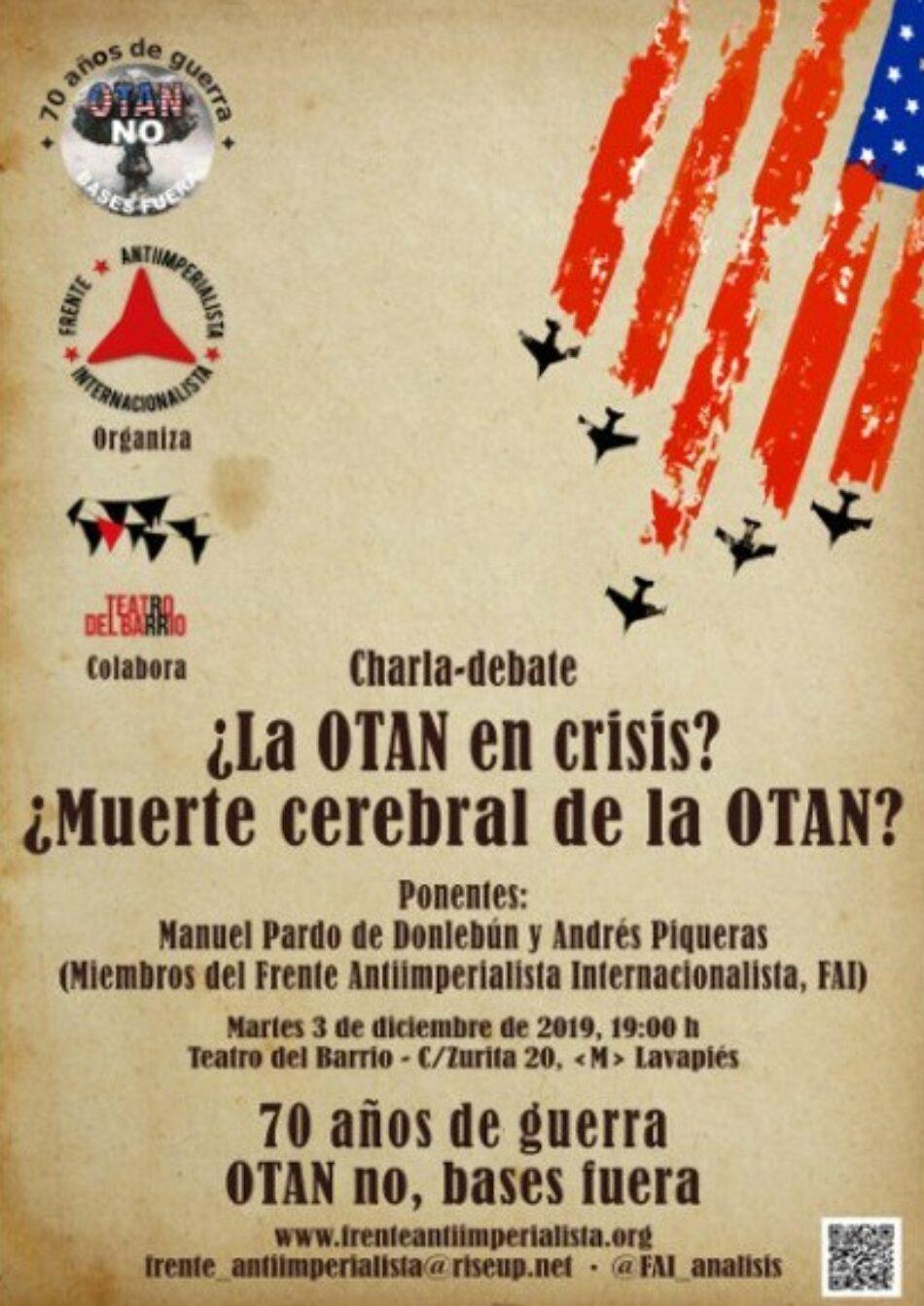 Convocatoria: «¿La OTAN en crisis?¿Muerte cerebral de la OTAN?»