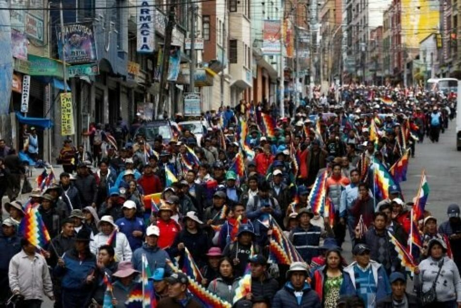 Denunciamos los ataques contra cargos públicos, militantes y simpatizante del MAS y del Gobierno por parte del ejército de Bolivia