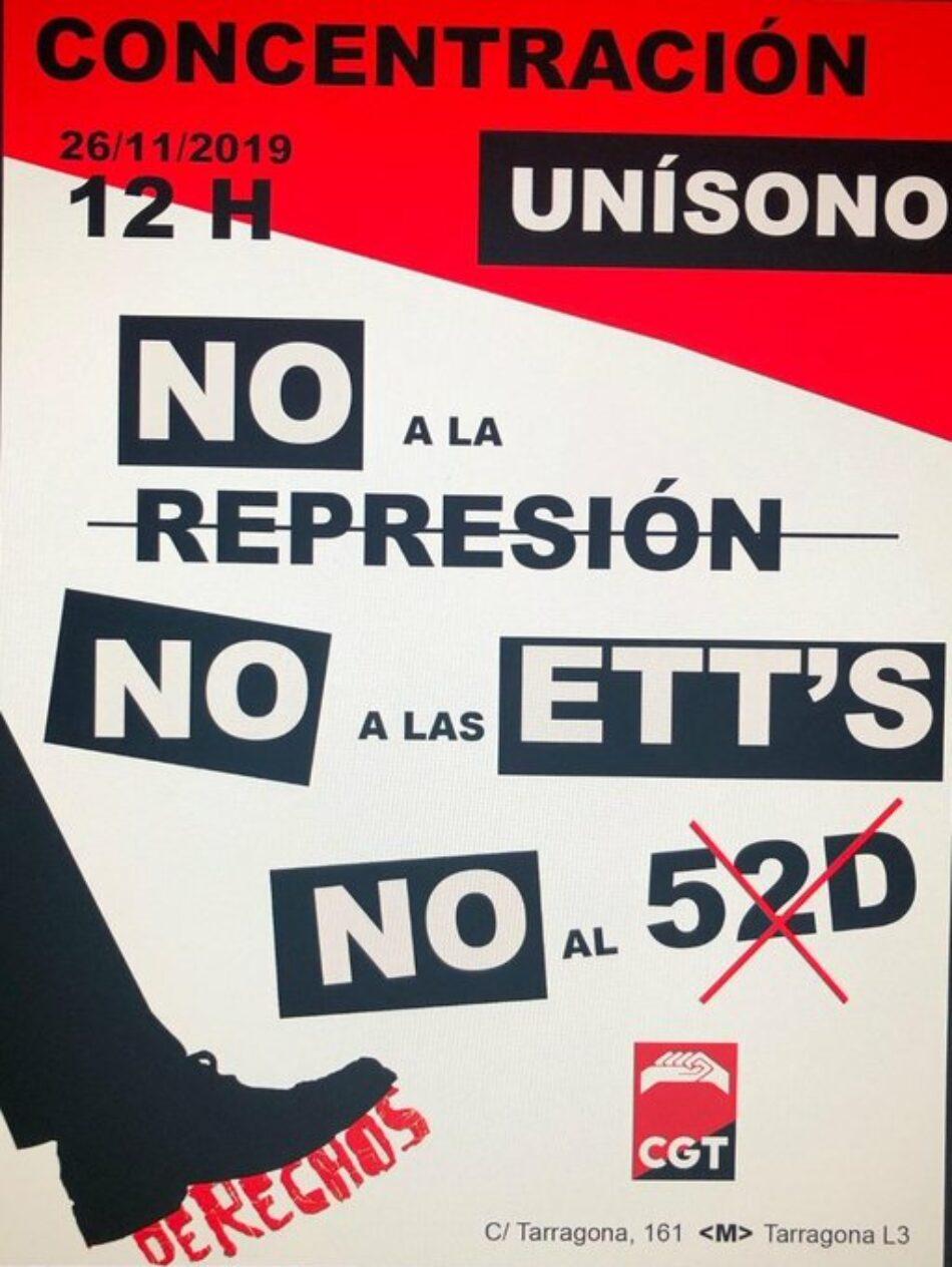Convocada concentración ante Unísono Barcelona