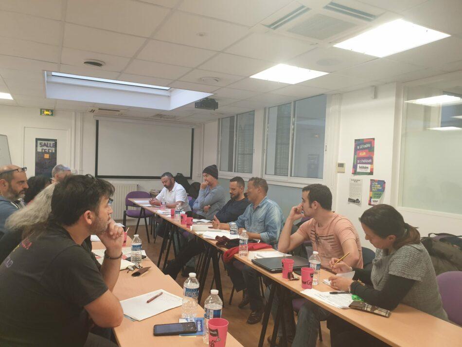 CGT participa en el encuentro internacional de la industria automotriz de la Red Sindical Internacional de Solidaridad y Luchas