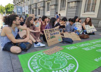 Fridays For Future regresa esta tarde a las puertas del Congreso para reclamar medidas contra la emergencia climática