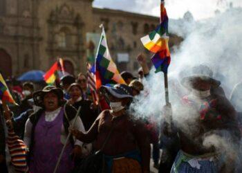 En Bolivia como en Palestina