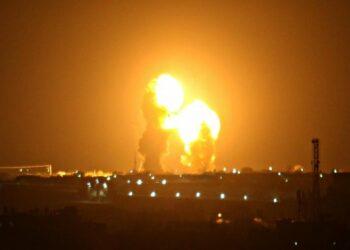 Israel bombardea posiciones de Hamás en Franja de Gaza