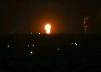 La aviación israelí bombardea nuevamente la Franja de Gaza