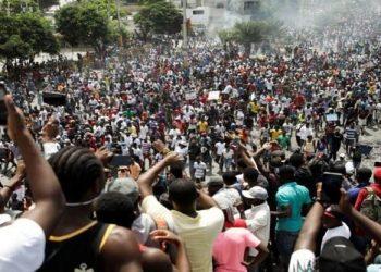 La población de Haití también está en la calle contra el neoliberalismo