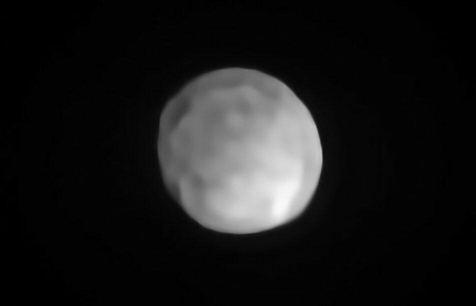 Higía puede destronar a Ceres como el menor planeta enano del sistema solar