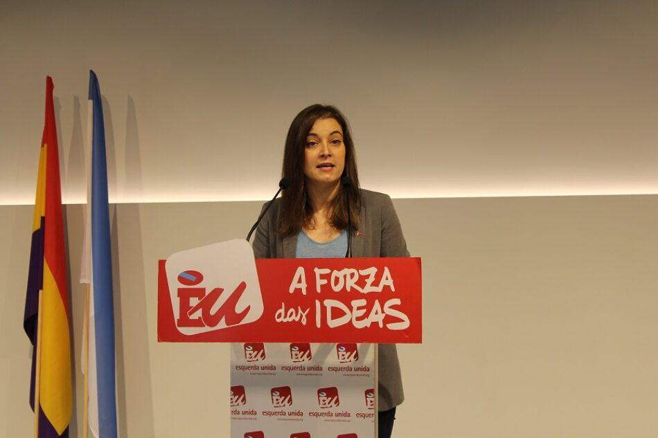 Esquerda Unida tacha a actitude da Xunta de Galicia de cínica xa que di que é 'abolicionista' e permite que os culpables da Carioca queden impunes