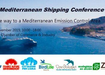 Urge controlar las emisiones del transporte marítimo en el Mediterráneo