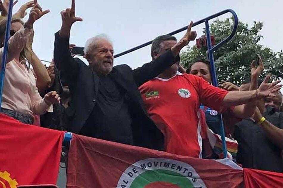 Reencuentro del Partido de los Trabajadores con su fundador Lula