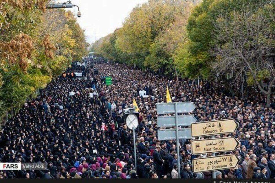 Los iraníes se manifiestan contra los provocadores de disturbios en diferentes ciudades