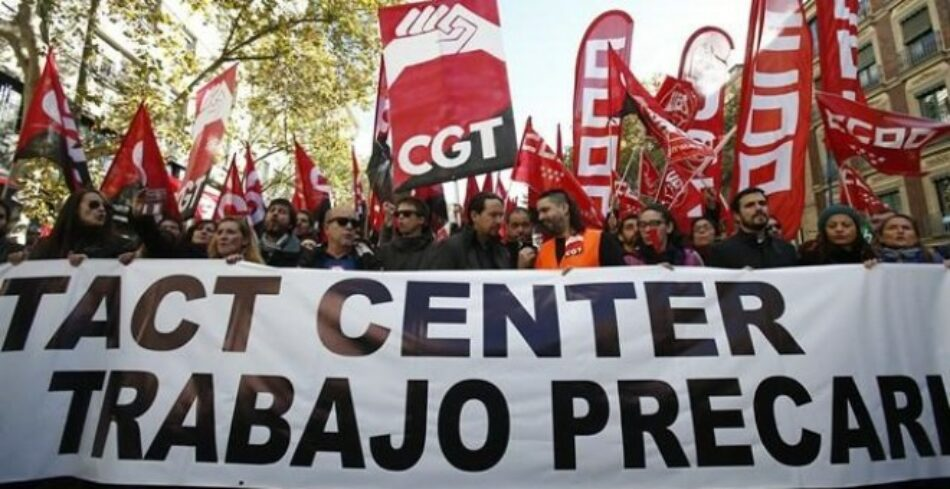 Cerca de 400 sindicalistas firman un Manifiesto de apoyo donde solicitan el voto a las candidaturas de Unidas Podemos el 10N