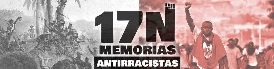 Manifiesto manifestación Antirracista, por qué salimos a las calles el #17N