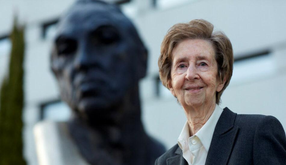 Muere Margarita Salas, un icono de la investigación en España