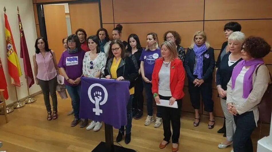 La Organización de Mujeres de la Intersindical de la Región Murciana hace un llamamiento para votar por la igualdad real