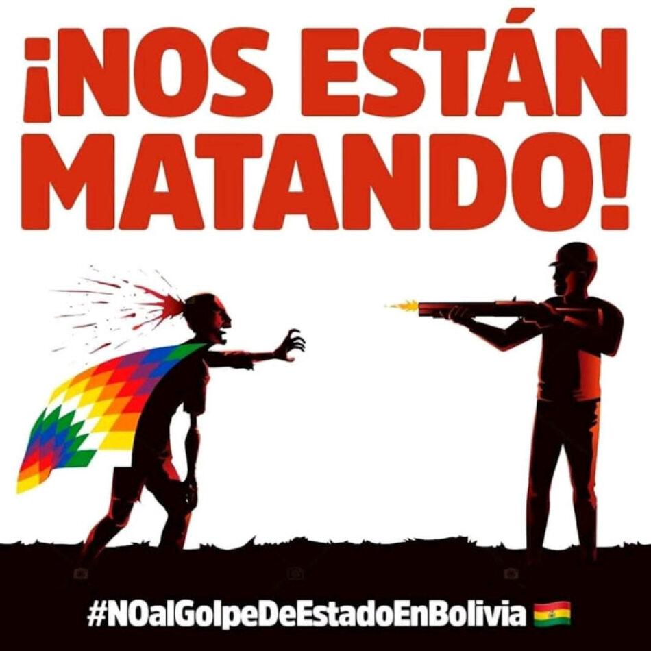 La dignidad de las Wiphalas contra el Golpe de Estado en Bolivia