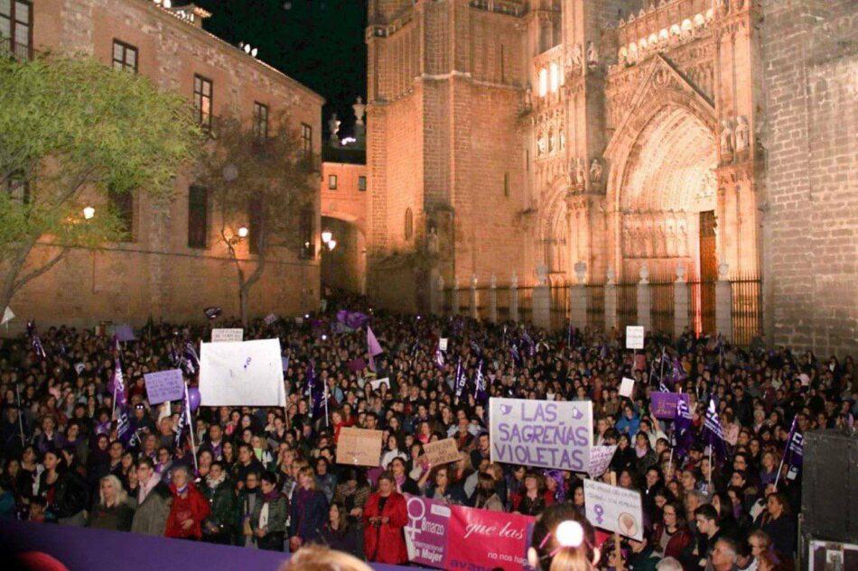La Plataforma 8M de Toledo anima a la participación masiva en la movilización del 25N