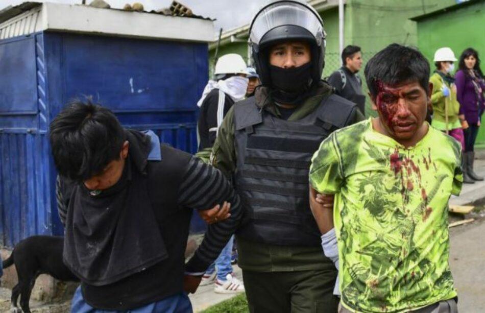 Bolivia. Golpe de Estado. Solo existe el poder de las armas