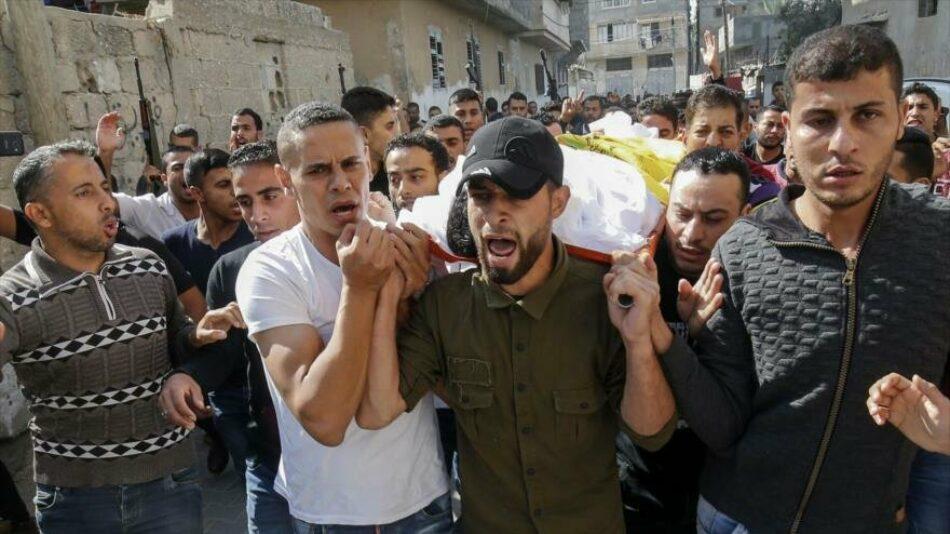Un palestino muerto y tres heridos por ataque israelí en Gaza