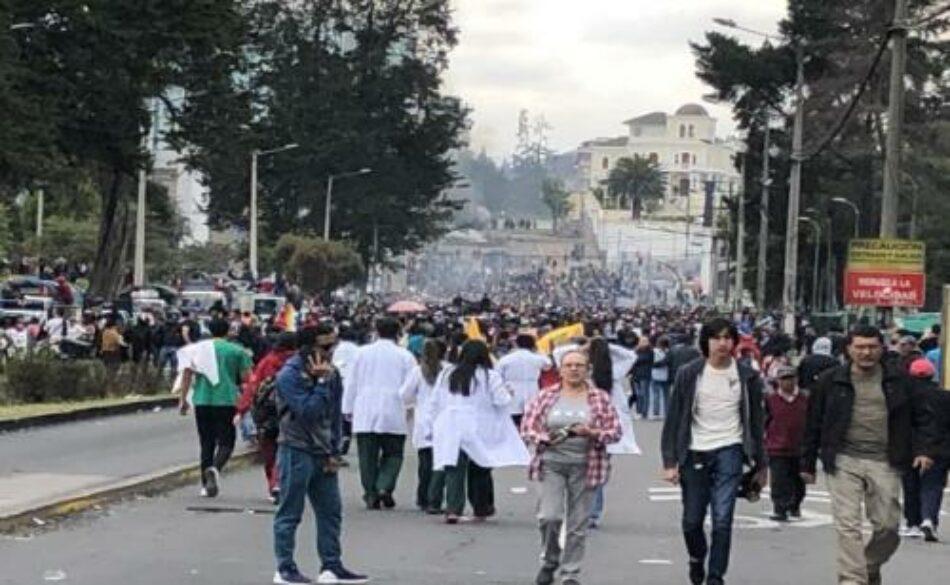 Ecuador.17 millones de insurgentes