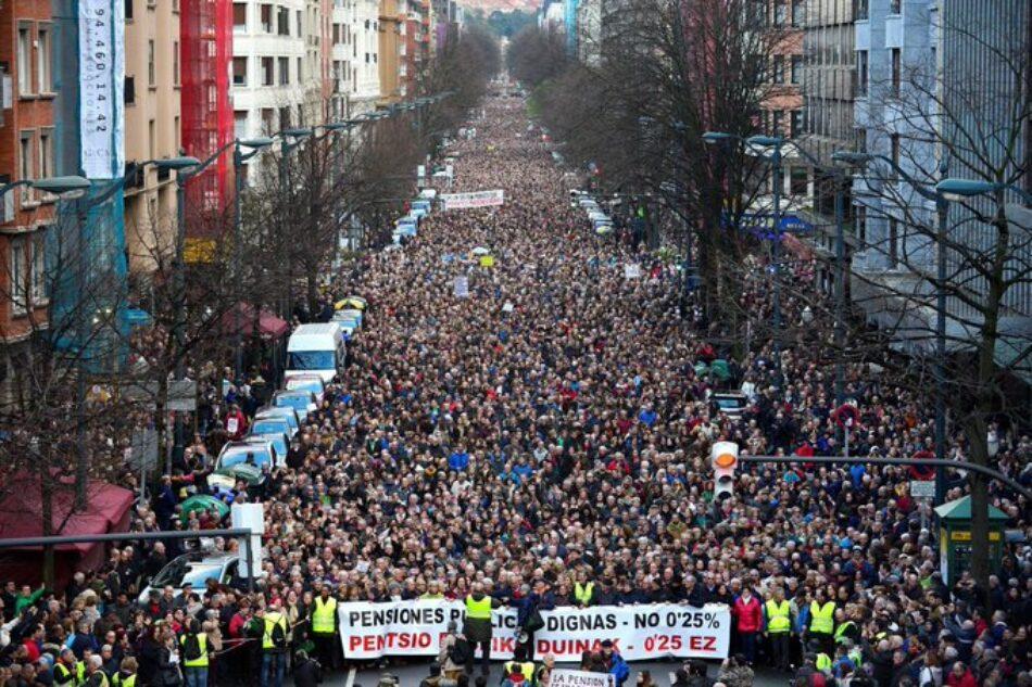 CNT convocará la huelga general por unas pensiones dignas