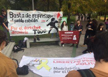 La Plataforma Referéndum UAM convoca un acto en Madrid contra la represión en Cataluña y por el derecho a decidir
