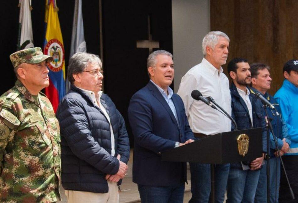 Iván Duque trata de contener las protestas en Colombia con el lanzamiento de un proceso de «conversación nacional»