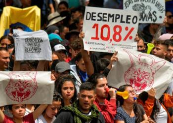 El paro nacional, la protesta social auto-convocada y el precariado movilizado