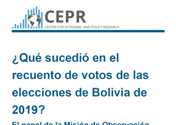 No hay evidencia de que los resultados de las elecciones bolivianas se hayan visto afectados por irregularidades o fraude, según el análisis estadístico