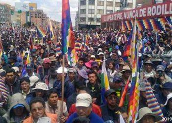 El País, con el golpismo en Bolivia