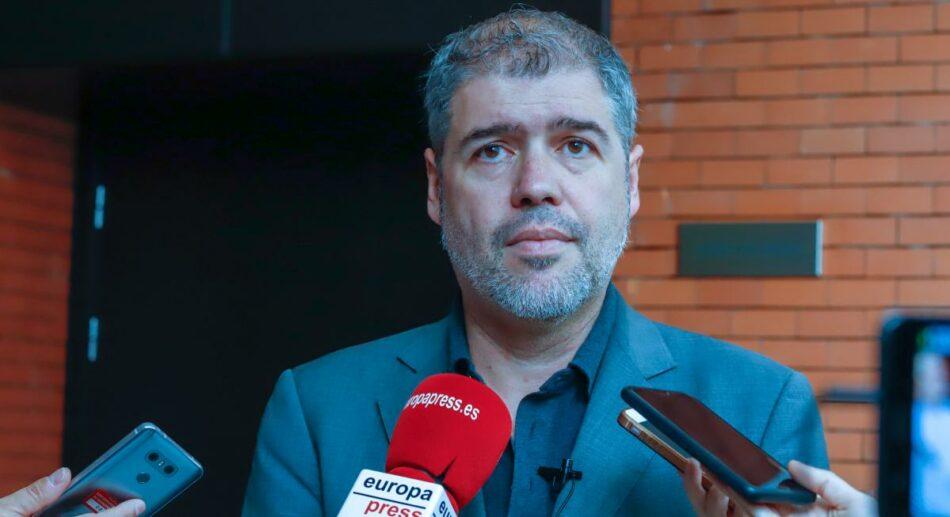 El secretario general de CCOO Unai Sordo anima al voto progresista en las elecciones generales