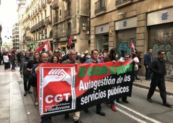 """CGT Viladecans exige al próximo gobierno la aplicación de los coeficientes reductores para la edad de jubilación en empleos con """"condiciones peligrosas"""""""