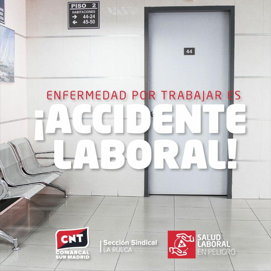 CNT exige el reconocimiento de enfermedad profesional en La Rueca