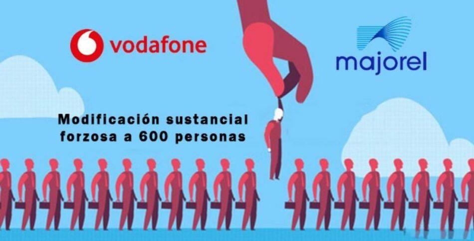CGT denuncia el cambio unilateral de las condiciones laborales de Vodafone y Majorel en Zaragoza