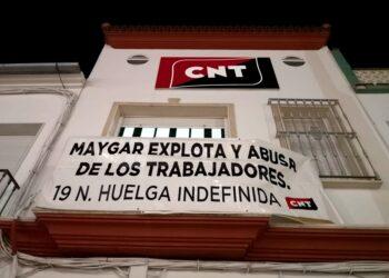 CNT convoca huelga indefinida en las empresas Maygar