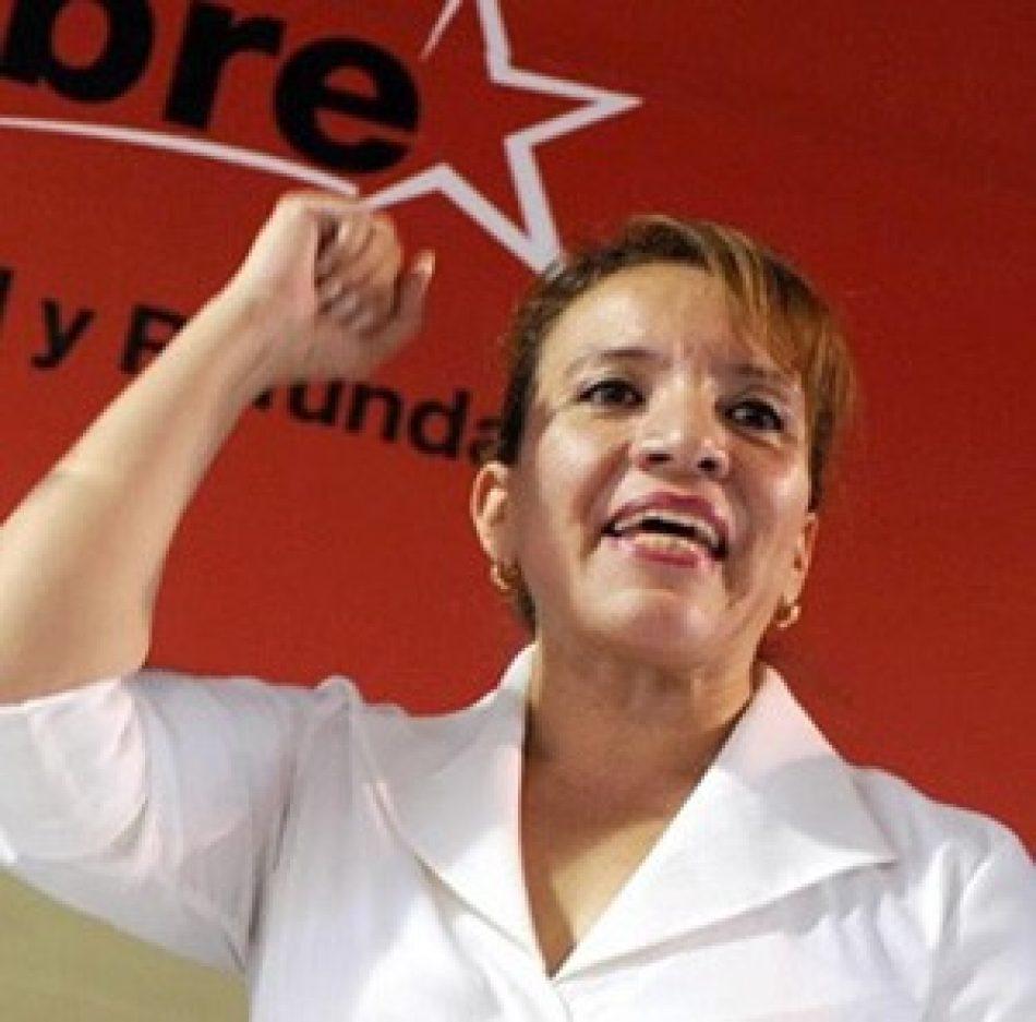 """Xiomara Castro. """"Hay que evitar que la COPPPAL quede en manos de partidos golpistas y fascistas"""""""