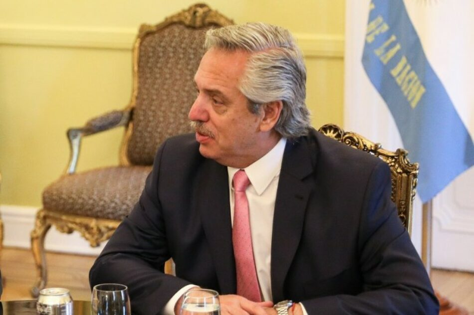 Alberto Fernández se suma a las críticas a la OEA: «Tal como está no sirve»