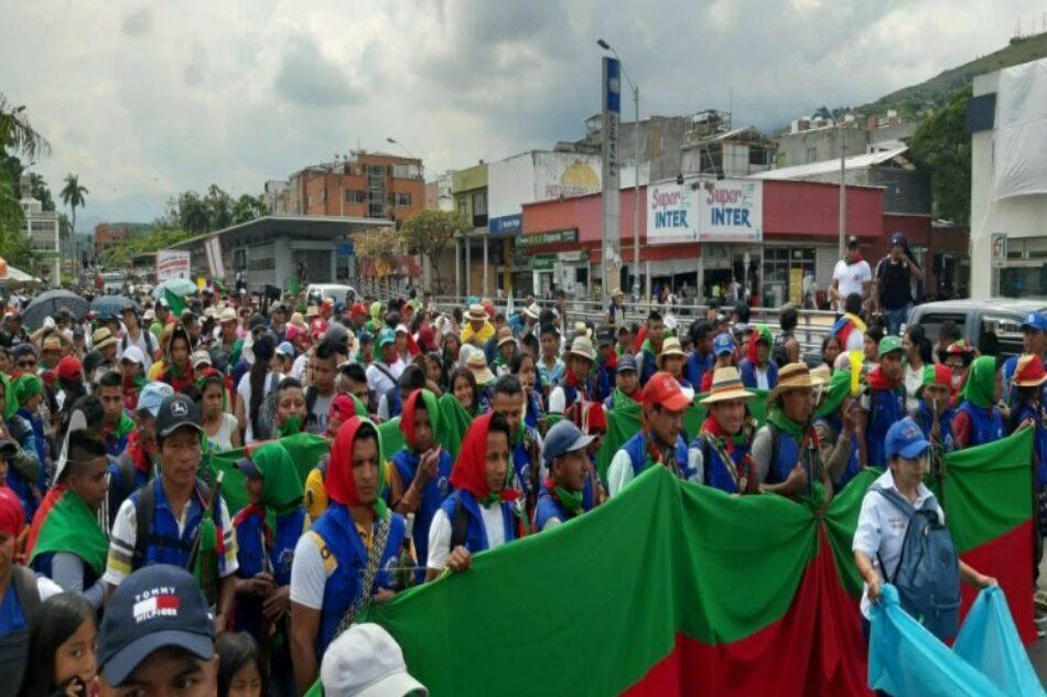 Guardia indígena en Colombia, un mecanismo de protección pacífica