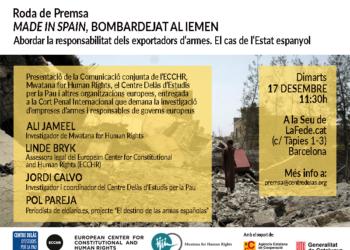 Made in Spain, bombardeado en Yemen