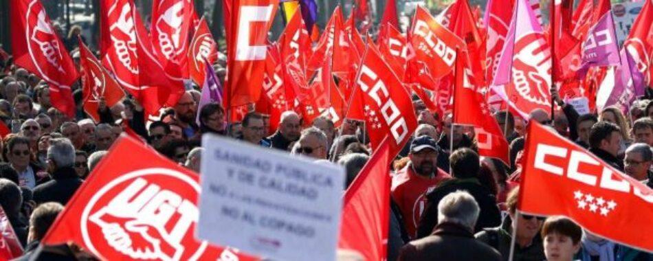 CCOO exige en la Mesa de empleados públicos más oferta de empleo y la vuelta a las 35 horas