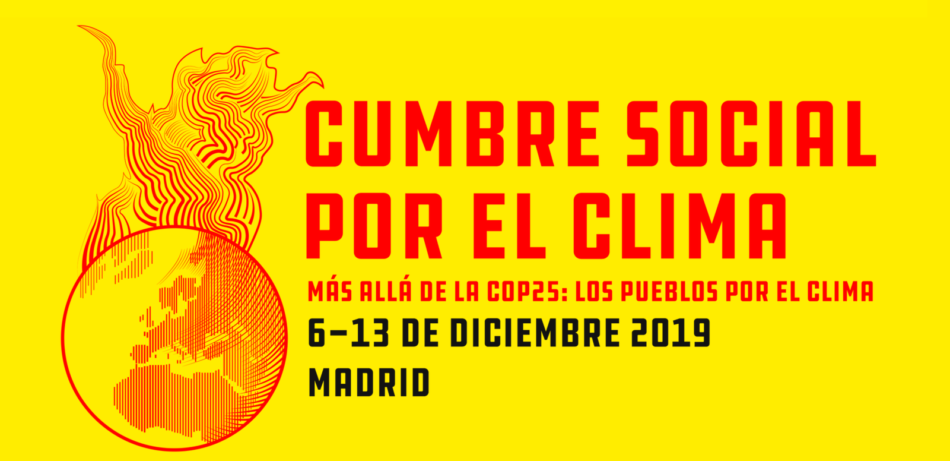 #CumbreSocialClima  Más allá de la COP25
