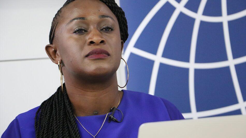 Caddy Adzuba: «La maldad del ser humano en la búsqueda de la riqueza está patente en la RDC»