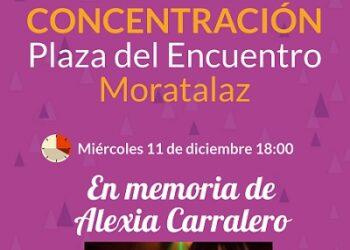 Moratalaz sale a la calle en recuerdo de Alexia Carralero y contra la violencia machista