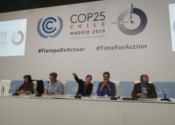Organizaciones ecologista critican duramente los resultados de la COP25