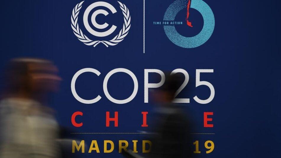 Amigos de la Tierra considera que las negociaciones del clima están muy alejadas de la realidad