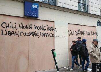 Segunda jornada de huelga general en Francia
