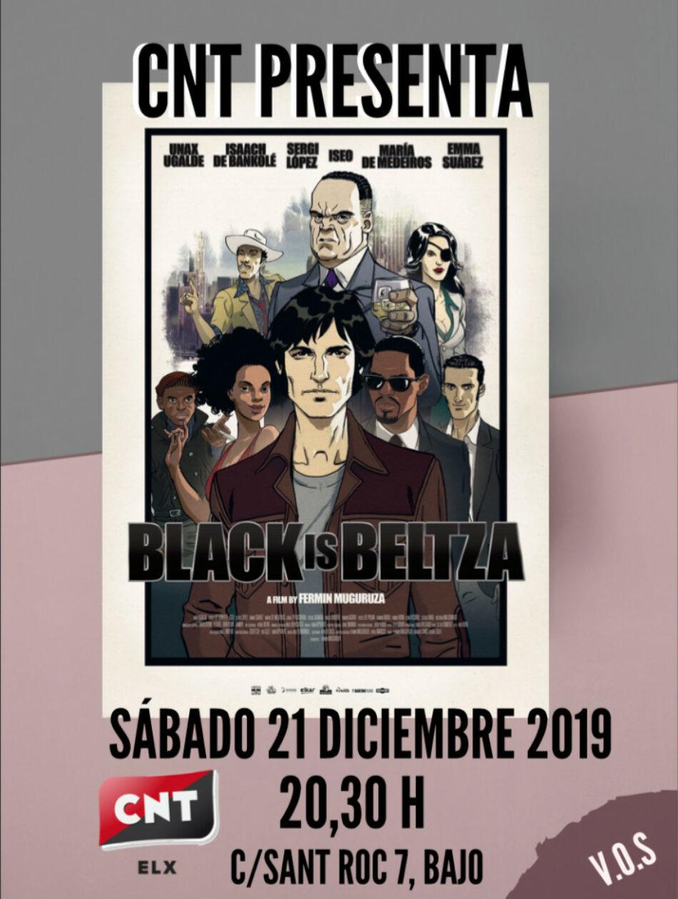 Proyección de 'Black is beltza', el 21 de diciembre en Elche