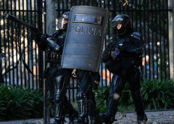 Iván Duque responde a las movilizaciones con el despliegue de 34.000 antidisturbios