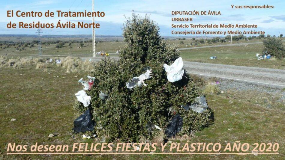 Ecologistas en Acción presenta una felicitación navideña para denunciar la contaminación por plásticos