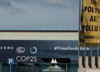 Greenpeace considera «inadmisible que las empresas contaminantes hayan impuesto sus intereses en la COP de Madrid»